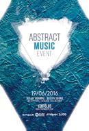 抽象音乐酒吧海报