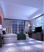 简约卧室模型