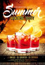 夏季鸡尾酒派对