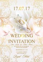 珠宝婚礼海报