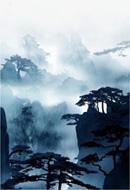 中国古风山水画