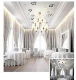 优雅高档餐厅模型