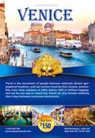 大气旅游宣传海报