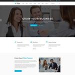 科技企业网站模板