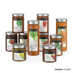 蔬菜罐头模型