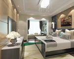 卧室简约模型