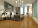 欧式简约卧室模型