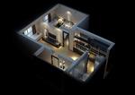 家装空间3d模型