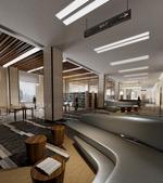 阅览室模型