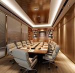 会议厅3d模型