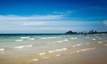 碧海蓝天沙滩