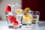 杯子里的山莓