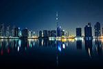 城市灯光夜景