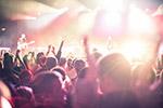 音乐演唱会人群