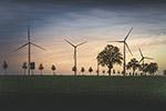 风力发电风车