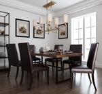 古典餐厅模型