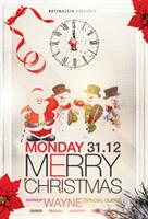 卡通圣诞节海报
