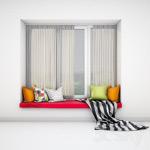 窗装饰模型