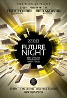 未来之夜酒吧海报