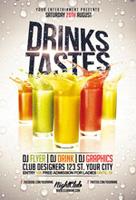 饮料创意海报
