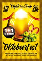 欧美啤酒海报