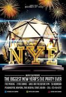 酒吧新年主题海报