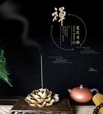 莲花香插详情页