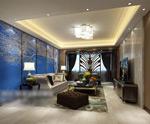 客厅3d模型模型