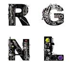 黑色科技字母
