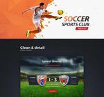 俱乐部WEB模板