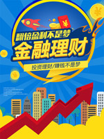 金融理财投资海报