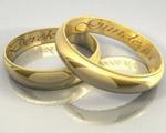 情侣戒指模型
