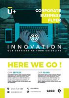 科技电子信息海报