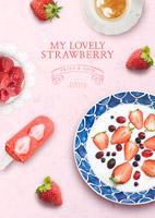 水果下午茶海报