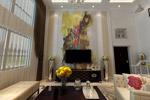 复式客厅模型