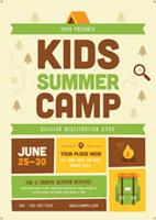 暑假夏令营海报