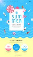 夏季旅游海报
