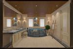 欧式浴室模型