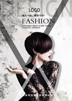 时尚美容美发海报