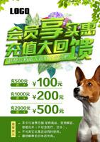 宠物医院会员海报