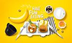 水果早餐海报
