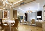 豪华客餐厅模型