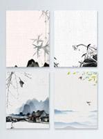 水墨中国风背景