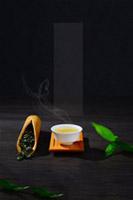中国茶韵背景