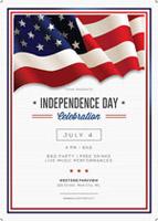 美国独立日海报