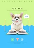 可爱宠物狗海报