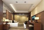 简约卧室3d模型