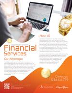 金融服务海报