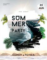 夏季派对海报