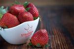 草莓碗LOGO样机